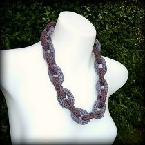 Crochet Chain Necklace