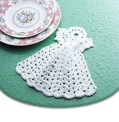 Simple Angel Dishcloth
