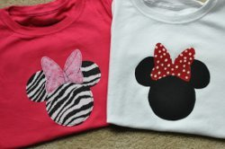 Minnie Mouse Applique Tutorial