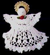 Crocheted Angel Tree Topper