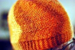 Wavy Knit Hat