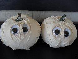 Silly Mummy Pumpkins