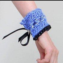 Marni Inspired Crochet Cuff
