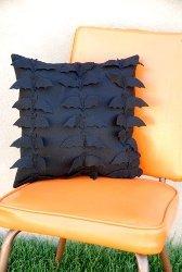 Classy Felt Bat Pillow