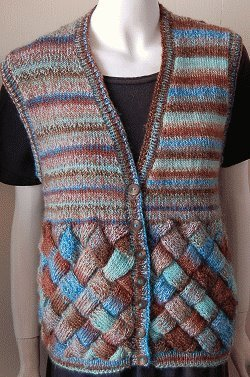 Free Vest Knitting Patterns Easy : Easy Knitting Projects: 22 Knitted Vests for the Whole Family AllFreeKnitti...