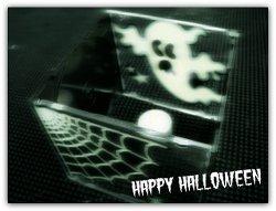 One Minute Halloween Luminary
