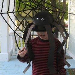 Easy Spider Hat