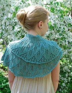 Cute Knit Shawlette