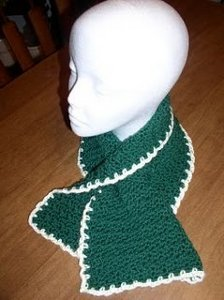 Crocheted Neck Cozy