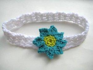 Baby Headband with Flowers