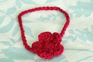 Free Crochet Pattern Baby Headband