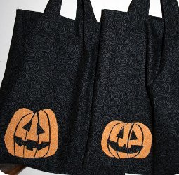Spooky Candy Totes
