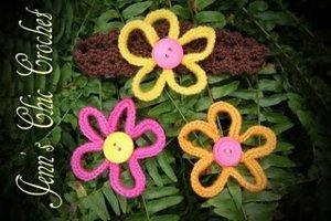 Loopy Flower Free Crochet Pattern