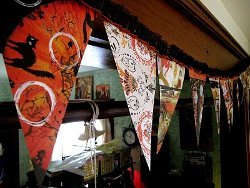Thrifty Halloween Bunting