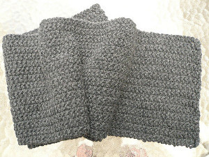 Bark Scarf Knit