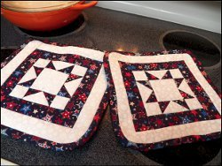 Independence Day Potholders
