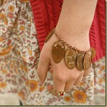 Pressed Pennies Bracelet
