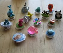 50 Cent Toy Machine Rings