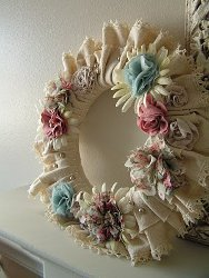 Mix and Match Bouquet Wreath