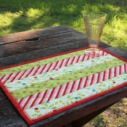 Holly Jolly Quilted Placemats