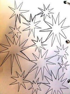 Continuous Starburst Quilting