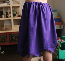 Versatile Shirt Skirt for Halloween Costumes