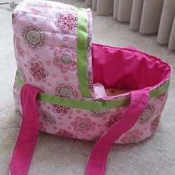 Quilted Doll Bassinet