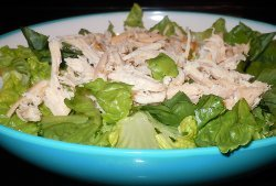 Slow Cooker Chicken Caesar Salads