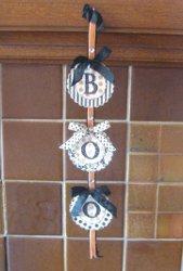 Vertical Boo Banner