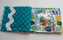 Fabric I Spy Book Tutorial