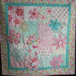 Sweet Flower Wall Quilt