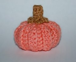 Little Fall Crochet Pumpkin