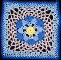 Hexagon-Afghan-Square