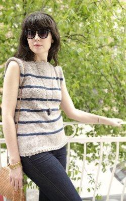 Vintage No Sew Sweater