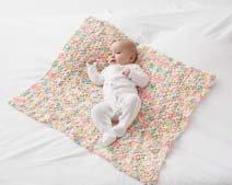 Baby Pom Pom Crochet Blanket