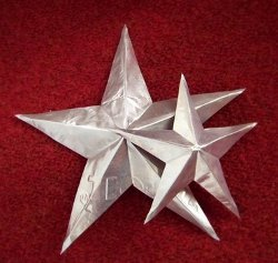 Baking Pan Tin Stars