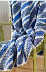 Corner to Corner Crochet Throw