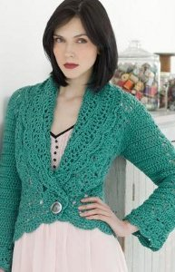 Mermaid Filigree Cardigan