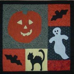 Spooky Halloween Applique Quilt