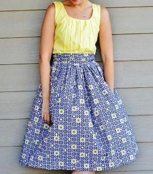 A Gathered Dress