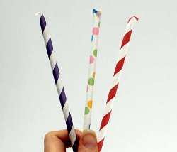 Homemade Pixie Sticks