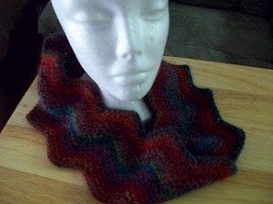 Mobius Ripple Cowl: Free Crochet Pattern