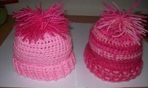 Quick Crochet Newborn Baby Beanie