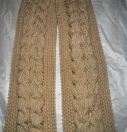 Braided Loaves Scarf