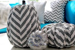 Crazy About Chevron Pumpkins