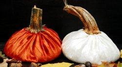Slouchy Velvet Pumpkins