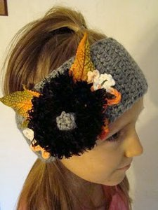 Crochet Fall Headband