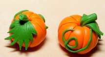 How to Make Halloween Clay Pumpkin Beads