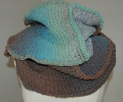 Three Skein Misty Cowl