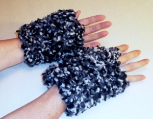 Soft and Bulky One Skein Wristlets